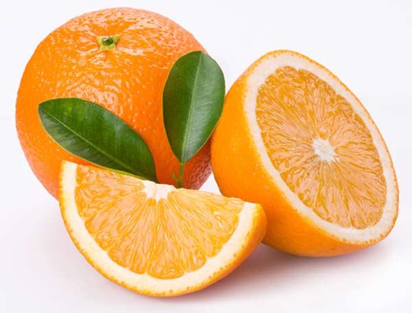 Cam là trái cây không thể thiếu khi ăn trứng luộc giảm cân