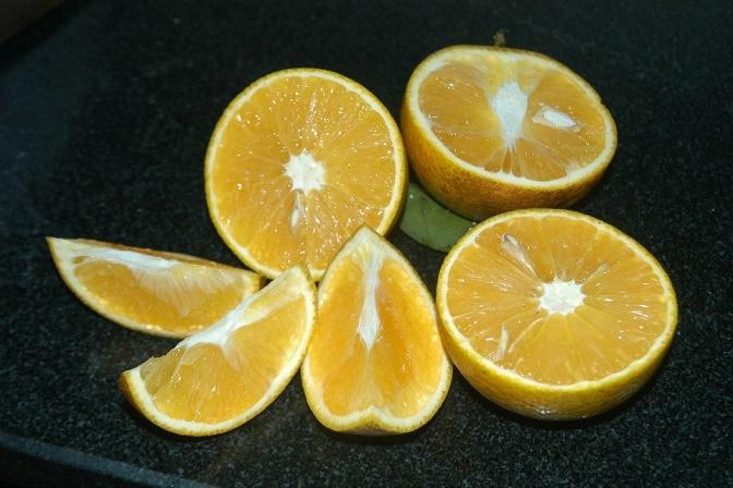 Trái cam Vinh tuy không đẹp mã nhưng rất đặc biệt